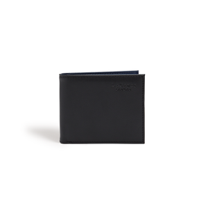 Strong Black Vegan Bifold Wallet