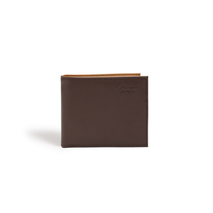 Strong Dark Brown Vegan Bifold Wallet