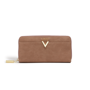 Kindness Brown Vegan Sustainable Two-Tone Wallet