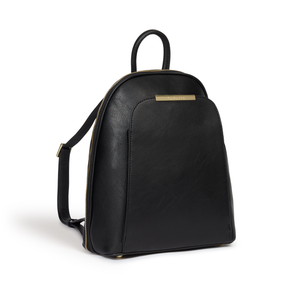 Sycamore Black Vegan Sustainable Backpack