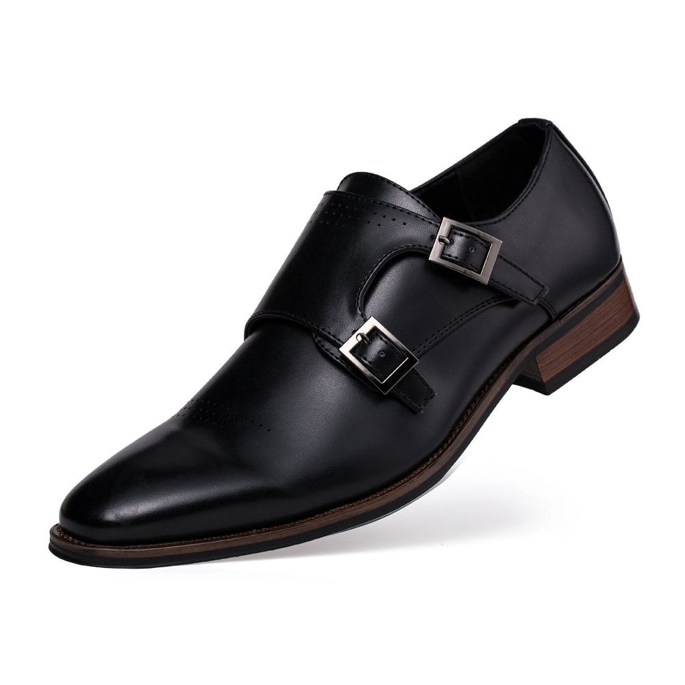 Double Buckle Oxford Shoes