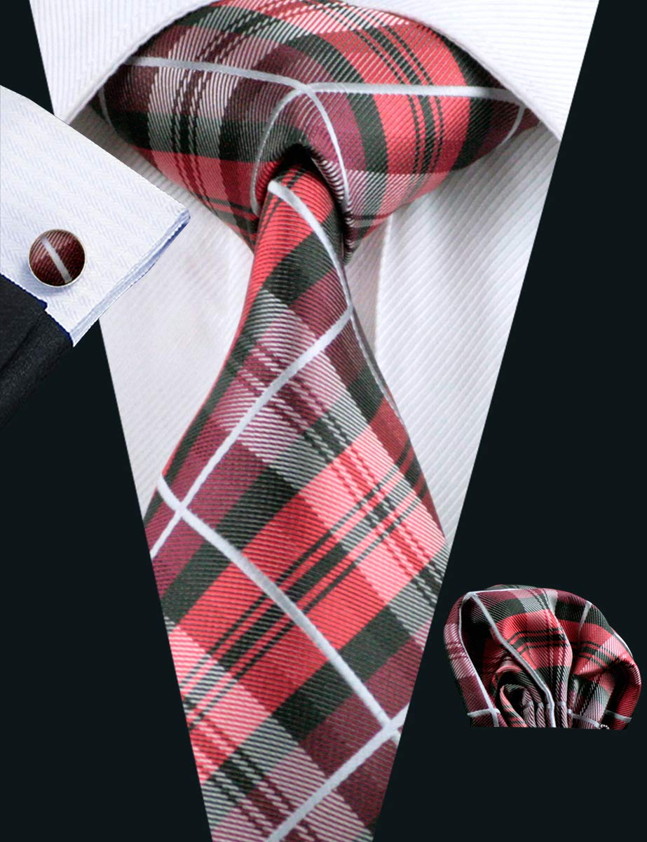 Plaid Tie Set