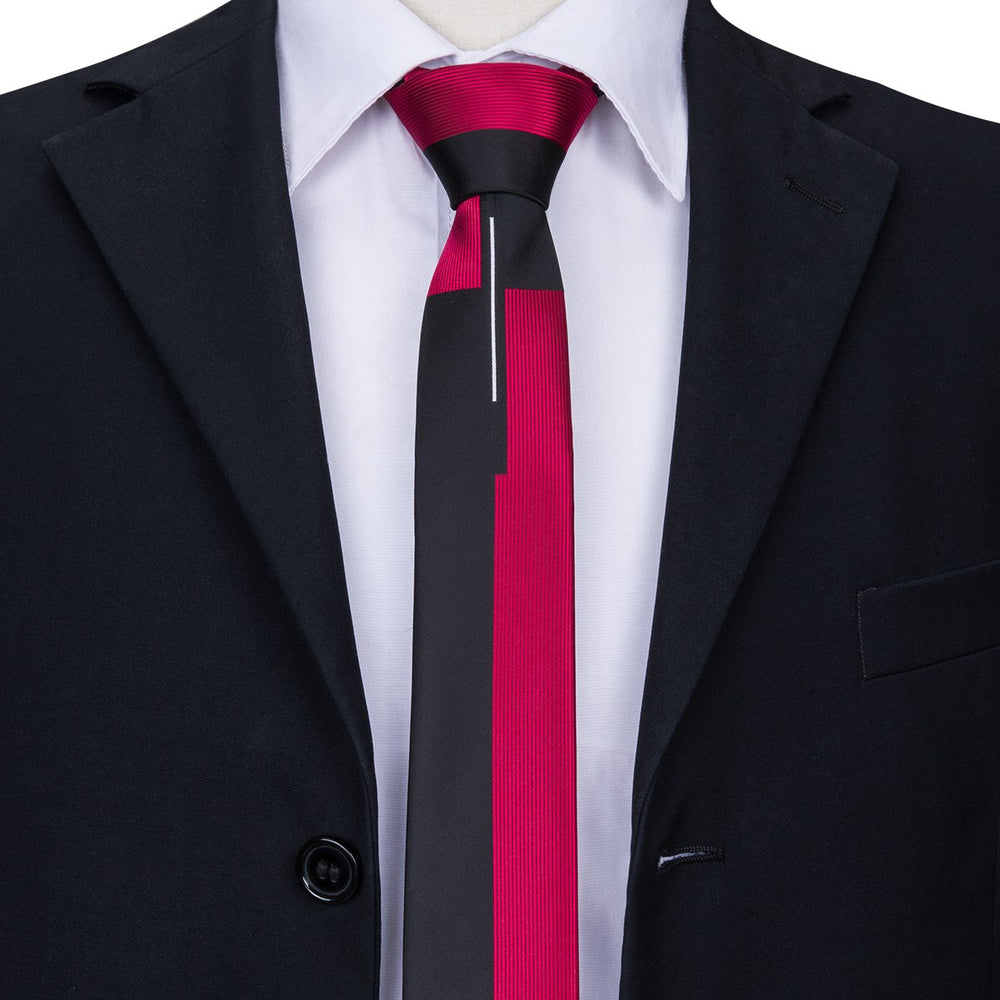 Solid Mixed Business Necktie