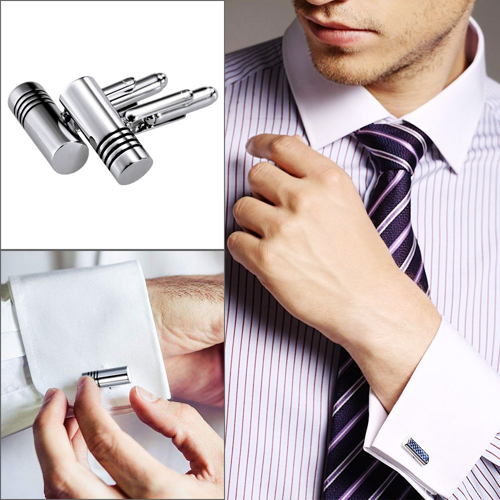 Lictin Steel Cufflinks