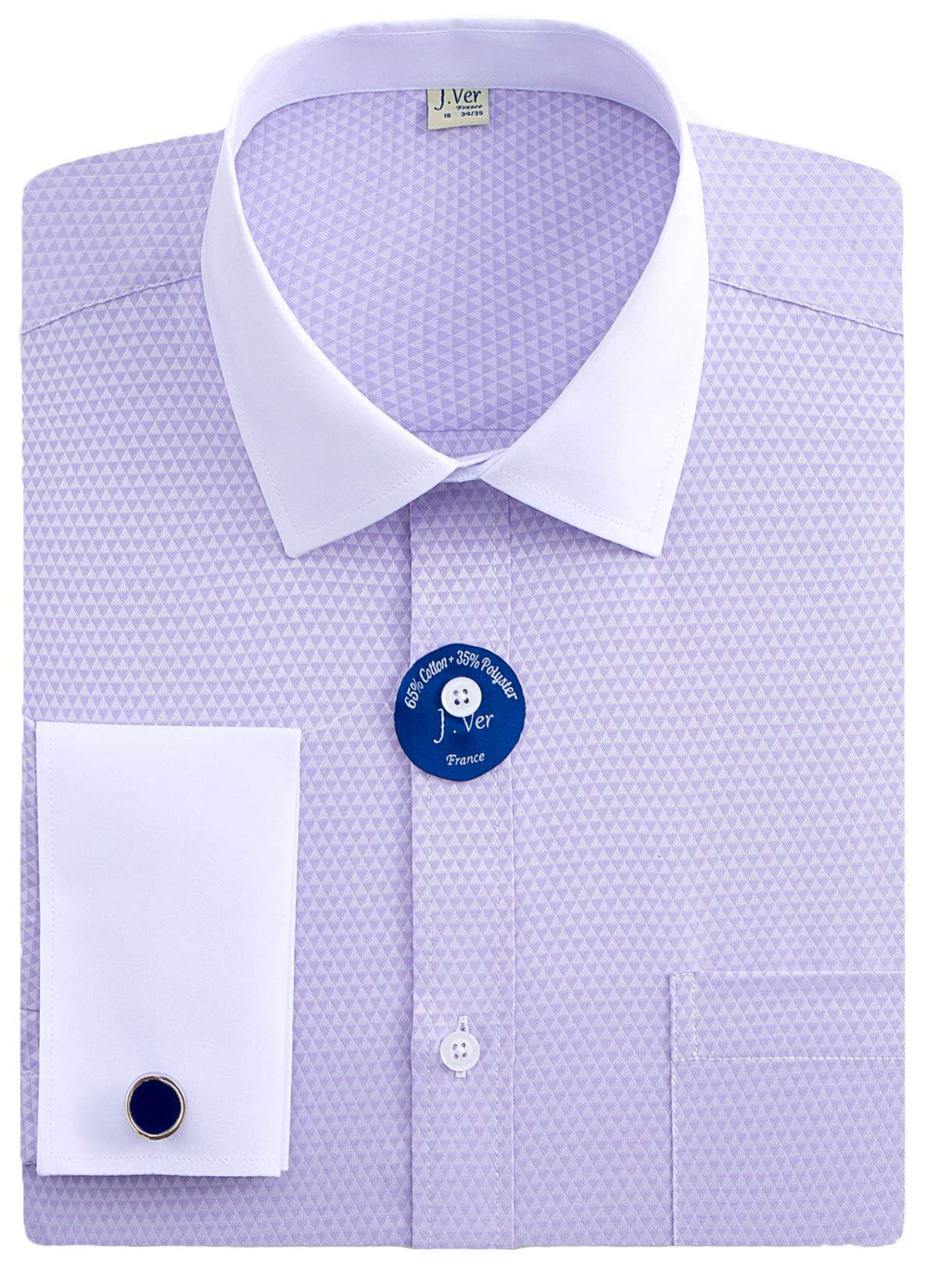 White Collar Dress Shirt
