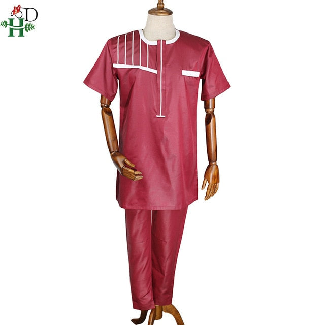 Shirt & Pants Set Traditional Attire