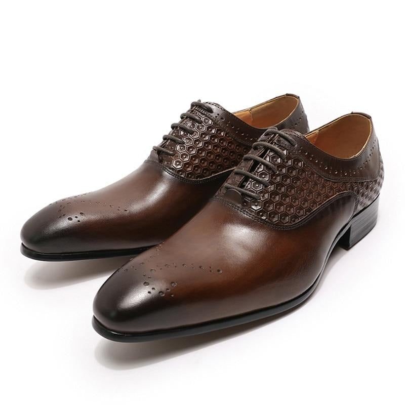 Brogue Lace Up