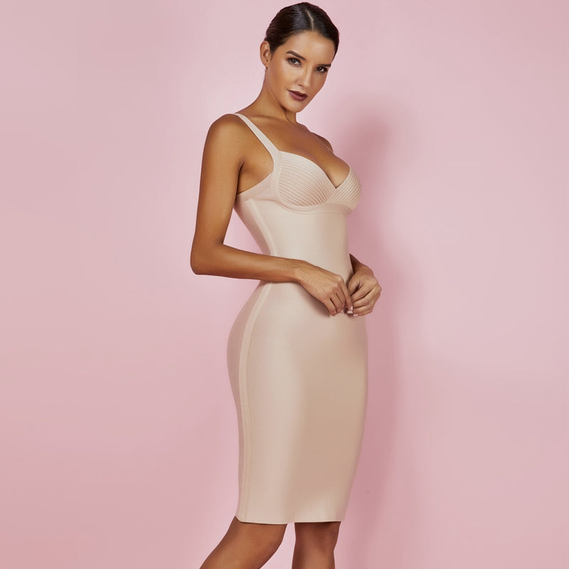 Sweetheart Bodycon Bandage Dress