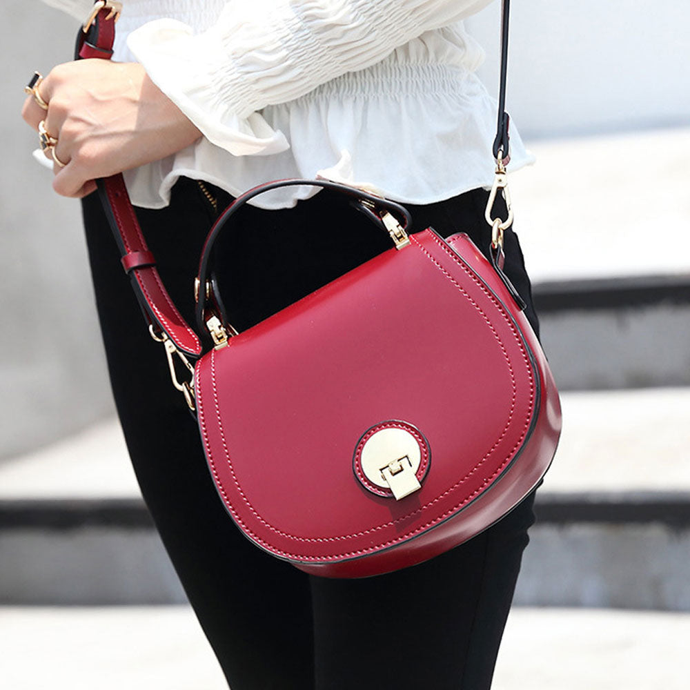 Buckled Crossbody