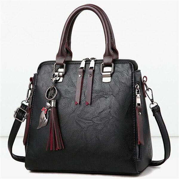 Tassel Satchel Bag