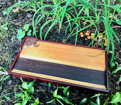 Cocobolo Rolling Tray