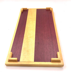 SATINWOOD & PURPLE HEART