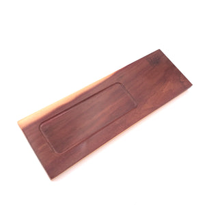 The Plank- Purpleheart Sapwood