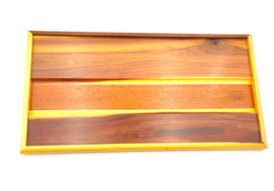 New classic Purple Heart sap wood x mahogany