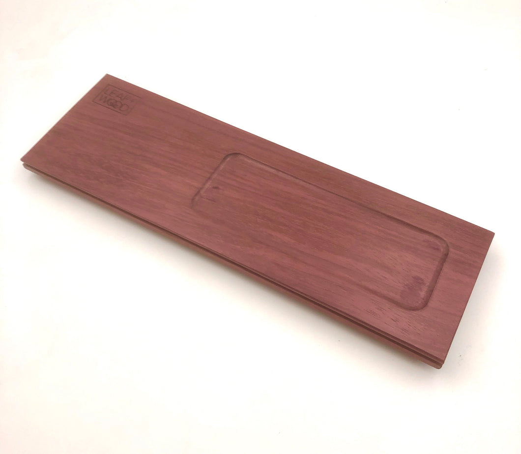 The Plank - Purpleheart