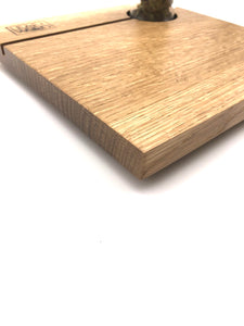 White Oak Display Block