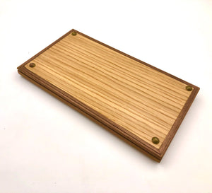Small Tray - White Oak x Teak