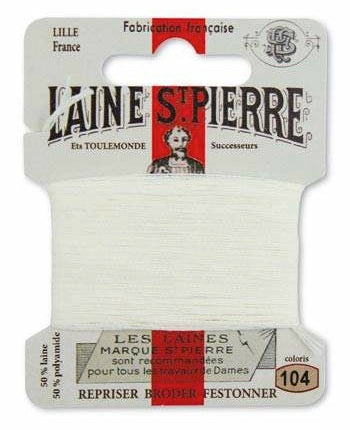 Laine St Pierre Darning Wool Cream 104