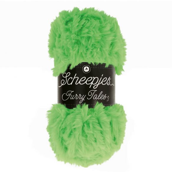 Scheepjes Furry Tales Super Bulky 100g : 986 Frog Prince
