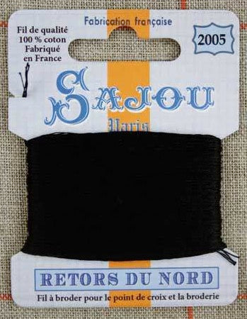 Retors Du Nord Embroidery Cotton Black 2005