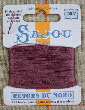 Retors Du Nord Embroidery Cotton Blackcurrant 2007