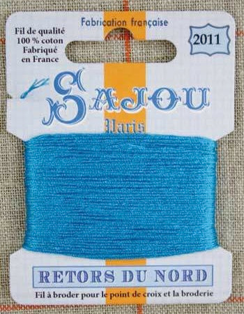 Retors Du Nord Embroidery Cotton Turquoise 2011
