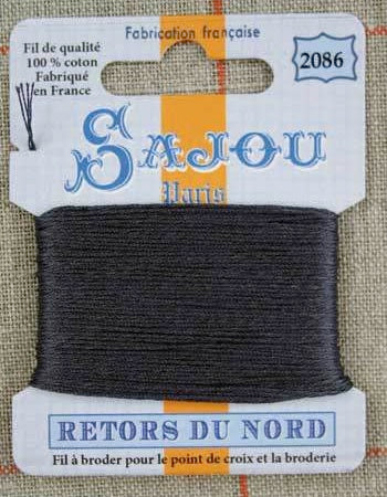 Retors Du Nord Embroidery Cotton Coal 2086