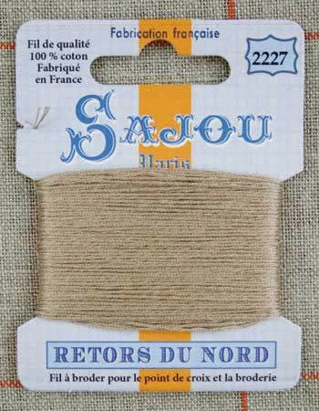 Retors Du Nord Embroidery Cotton Sand 2227