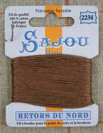 Retors Du Nord Embroidery Cotton Chamois 2234