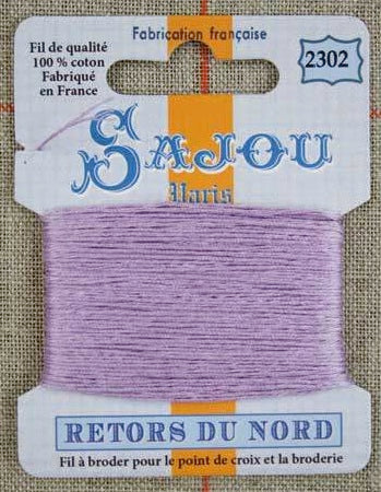 Retors Du Nord Embroidery Cotton Mauve 2302
