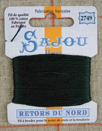 Retors Du Nord Embroidery Cotton Pine 2749