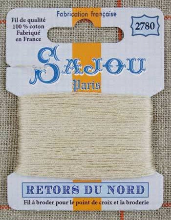 Retors Du Nord Embroidery Cotton Ecru 2780