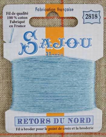 Retors Du Nord Embroidery Cotton Gobelin Blue 2818