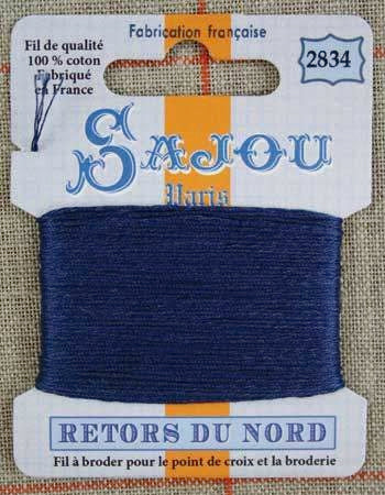 Retors Du Nord Embroidery Cotton Storm 2834
