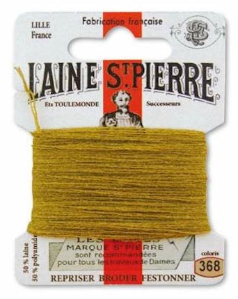 Laine St Pierre Darning Wool Ocre 368