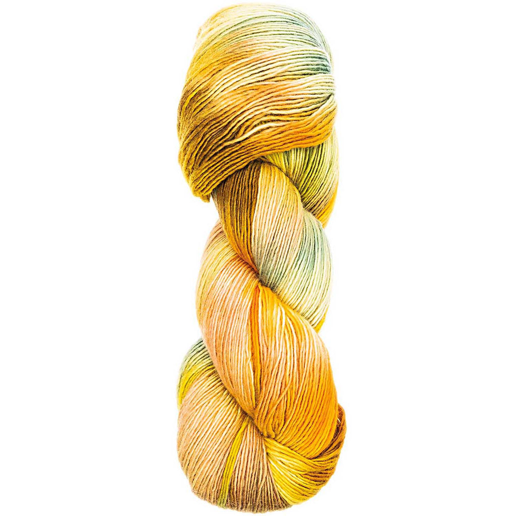 Luxury Hand-Dyed Happiness 100g 400m DK Yellow-Green 005