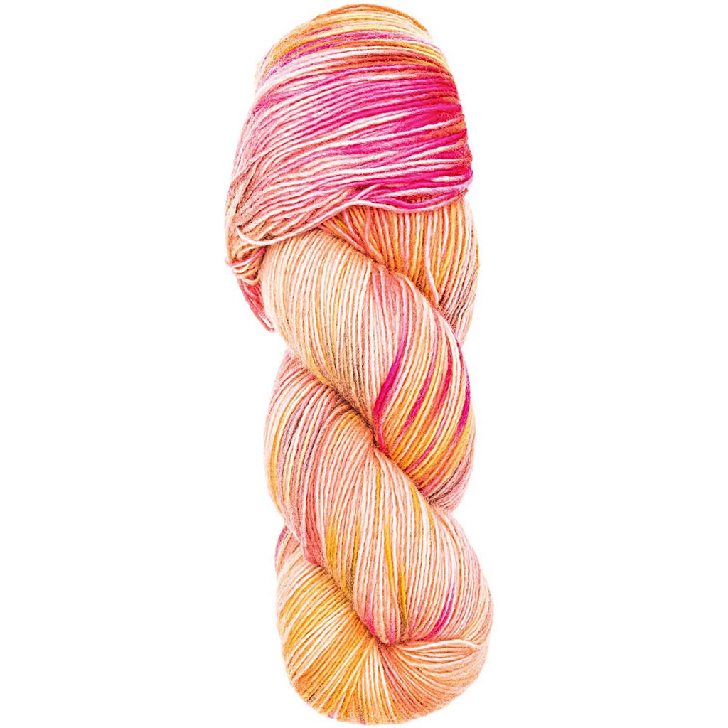 Luxury Hand-Dyed Happiness 100g 400m DK Salmon Yellow 006