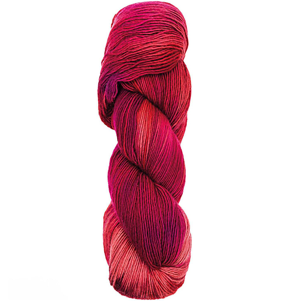 Luxury Hand-Dyed Happiness 100g 400m DK Red 007