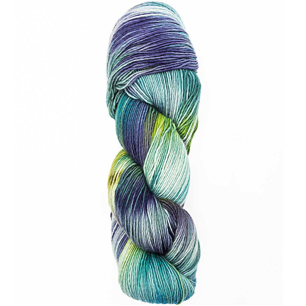 Luxury Hand-Dyed Happiness 100g 400m DK Green 008