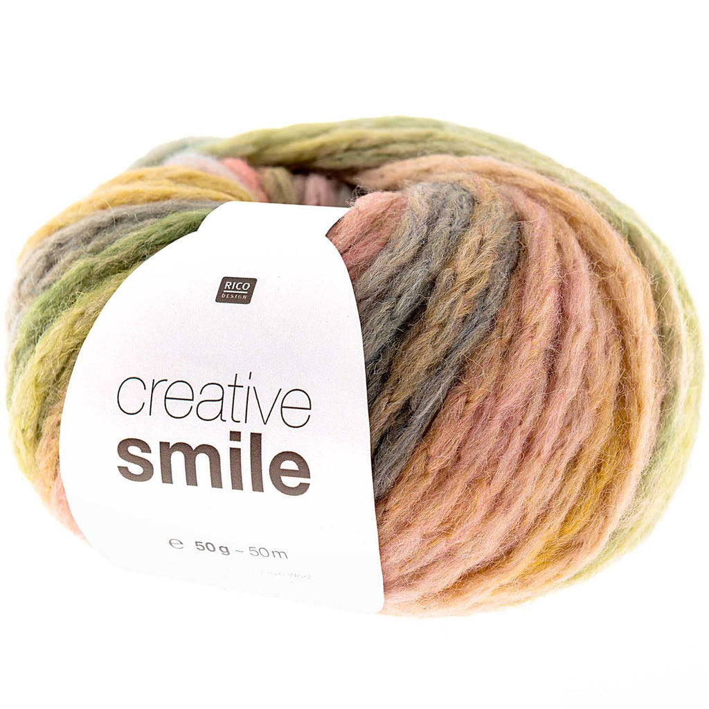 Rico Smile Super Chunky Yarn  002 Winter Sky