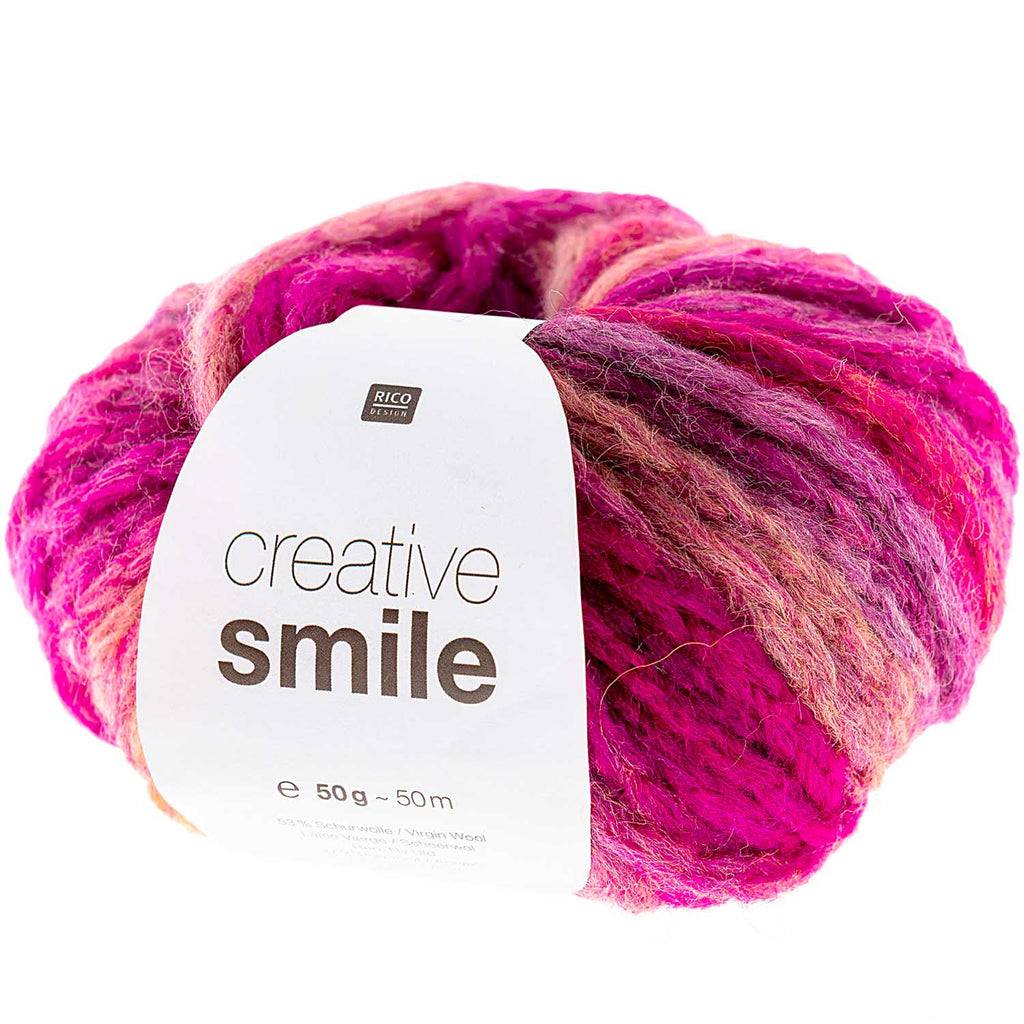 Rico Smile Super Chunky Yarn 003 Love