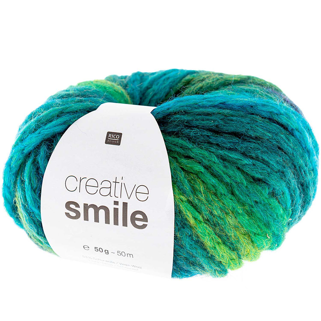 Rico Smile Super Chunky Yarn 005 Aqua