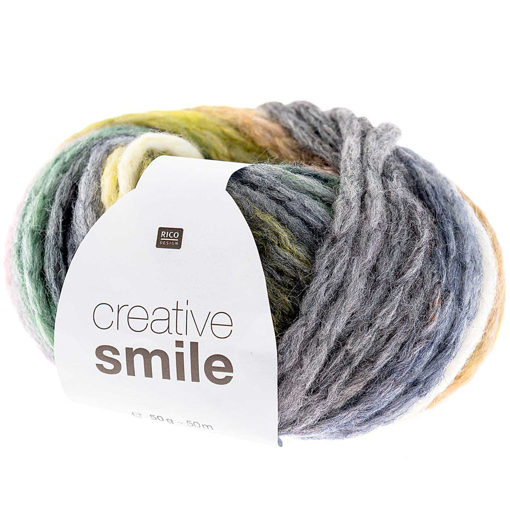 Rico Smile Super Chunky Yarn 006 Multi