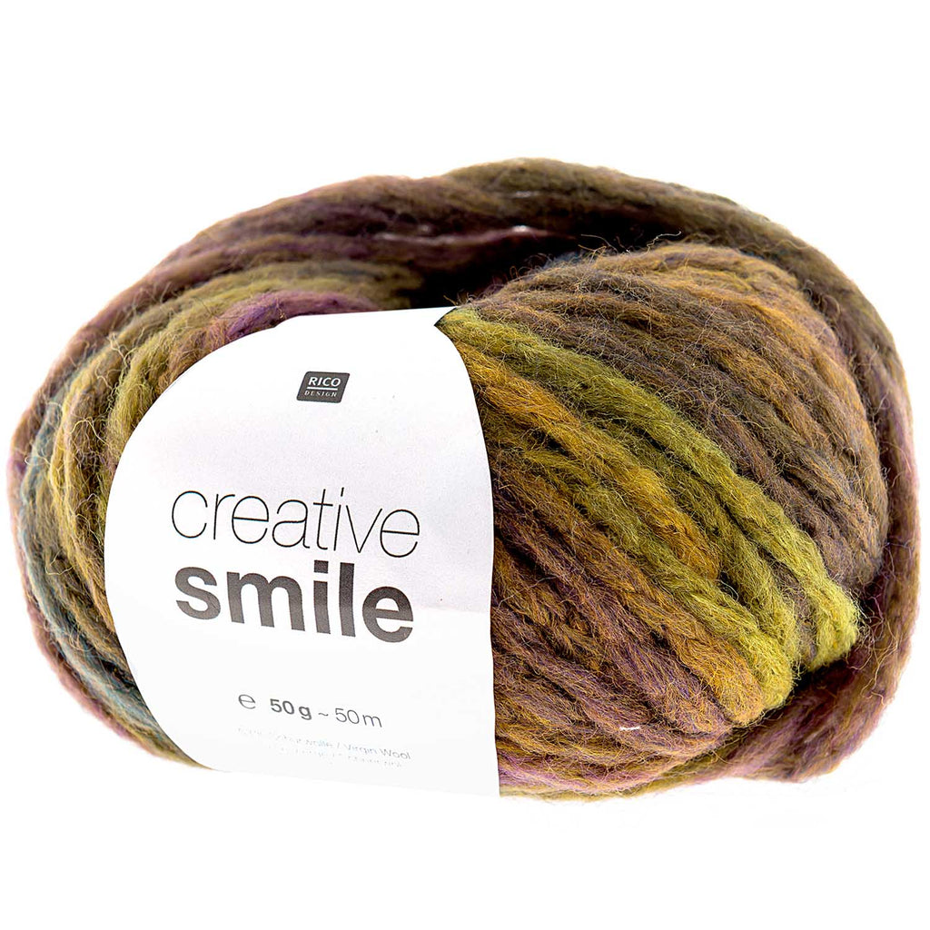 Rico Smile Super Chunky Yarn 007 Autumn