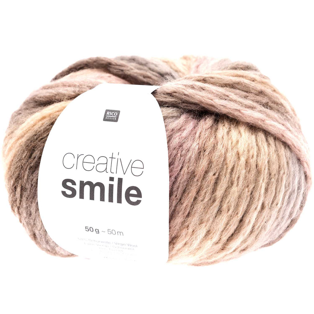 Rico Smile Super Chunky Yarn  011 Snow