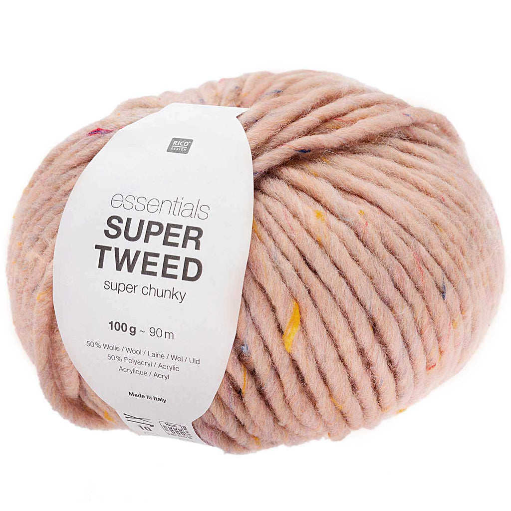 Rico Essentials Super - Super TWEED Chunky Yarn Powder 002