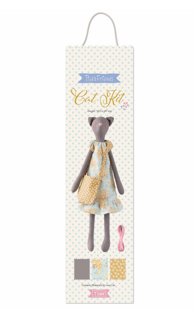 Tilda Cat Sewing Kit (height 47cm)