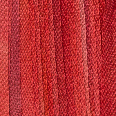 Hand Dyed Silk Ribbon Xmas Red 40