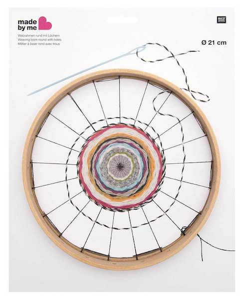 Round Weaving Loom with holes 21cm