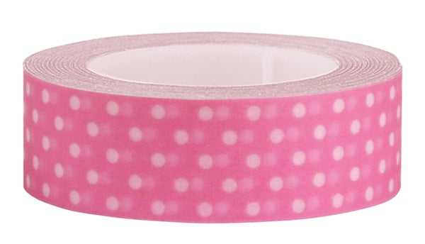 Washi Tape Pink polka dot